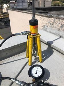 Instalação pontos de ancoragem